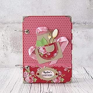 Christmas Blank Recipe Notebook