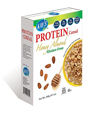 Kay's Naturals Protein Breakfast Cereal, Honey Almond, 9.5 Ounce (Pack of 6)