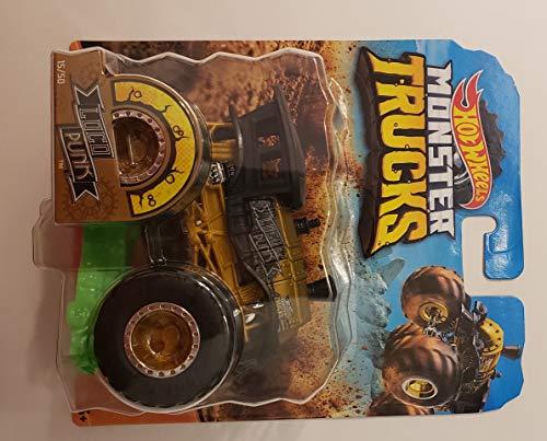 Hw Monster Trucks Loco Punk Giant Wheels Gold Black 1:64 Scale