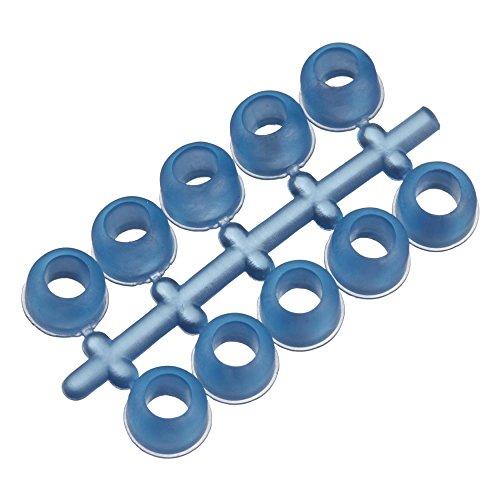 LeMieux Unisex Stud Plugz 6 Pack Blue Stecker, blau, Einheitsgröße