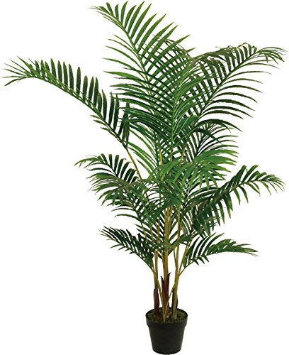 Best Artificial 5 pies 150 cm Areca palmera Tropical conservatorio oficina interior exterior...