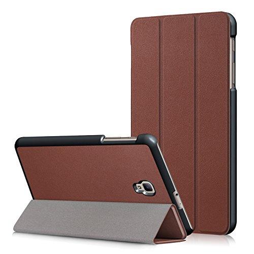 WindTeco Samsung Galaxy Tab A 8.0 (2017) Funda - Ultra Delgado y Ligero Carcasa Smart Soporte Case con Función de Auto Sueño/Estela para Samsung Galaxy Tab A 8.0 Pulgadas 2017 Tableta T380/T385