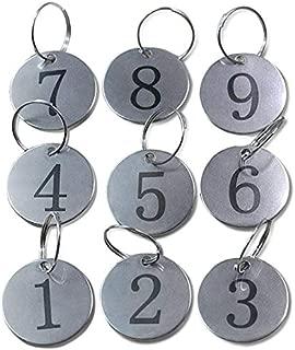 Best numbered locker key tags Reviews
