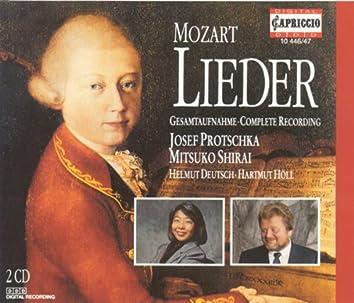 Mozart, W.A.: Lieder