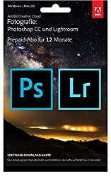Adobe Creative Cloud Fotografie (Photoshop CC + Lightroom)