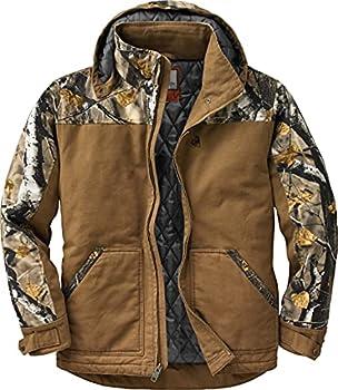 Legendary Whitetails Men s Standard Canvas Cross Trail Workwear Jacket Barley Large