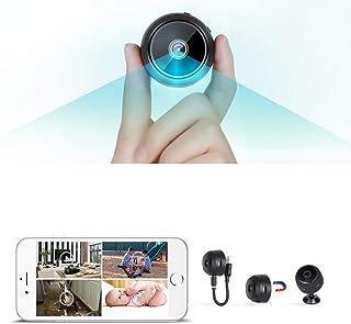 كاميرا صغيرة محمولة عالية الدقة بتقنية واي فاي 2020 بكسل عالية الوضوح بدقة 1080 بكسل مع ميزة كشف الحركة والإصدار الليلي لك...