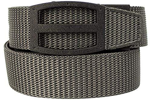 Nexbelt Ratchet Technology EDC Titan Grey PreciseFit Nylon Gun Belt for Concealed Carry Unisex