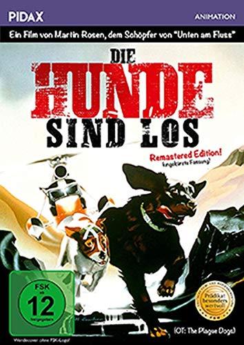 Die Hunde sind los - Remastered Edition (The Plague Dogs) / Bewegender Film von Martin Rosen (