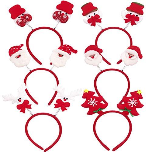 Cerchietti Natalizi YUESEN Natale Head Riutilizzabile Decorazione Creatività Santa Claus Snowman...