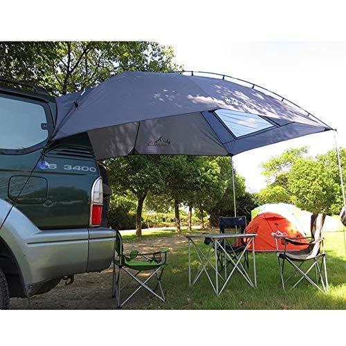 Xljh 5-8 Personen Daktent Anti-UV Outdoor Opvouwbare Auto Onderdak Camping Tent Waterdichte Auto Awning Tent Tuin Picknick Zonwering