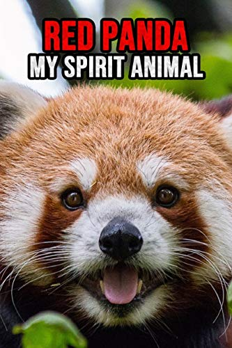 Red Panda My Spirit Animal: Lovely Journal / Diary / Notebook, For Kids and Adults Cool To Write In (Lined, 6' x 9')