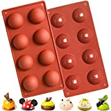 The semi sphere silicone cylinder candy chocolate mold made of 100% Silicone, Heat Resistant from -40 Fahrenheit to 466 Fahrenheit degree.microwave, oven, refrigerator, freezer and dishwasher safe. 6 hole silicone mold size:10.6*5.3*1.2(27 * 13.5 * 3...