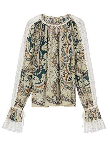 Etro Luxury Fashion Damen 1640143210500 Multicolour Seide Bluse | Herbst Winter 19