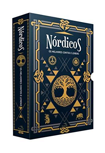 Box Nórdicos: Os Melhores Contos e Lendas - 2 Livros + Pôster + Marcadores De Páginas