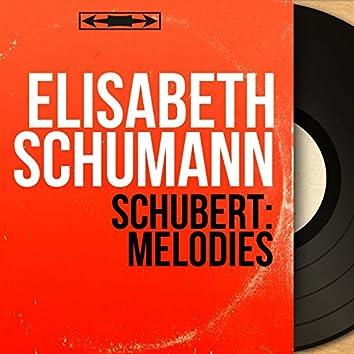 Schubert: Mélodies (Mono Version)