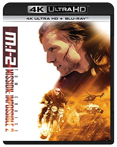 M:I-2 (4K ULTRA HD + Blu-rayセット) [4K ULTRA HD + Blu-ray]