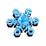 Tritow Fidget Hand Spinner Blue Snowflake 6-Spin Ultra Fast Ultra Durable R188 Stainless Steel Bearing Spinning Top Stress Relief ADHD EDC Anti Anxiety Gift