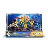 Disney - X-Men Deluxe Figure Play Set Includes Nine Characters: Gambit, Storm, Wolverine, etc