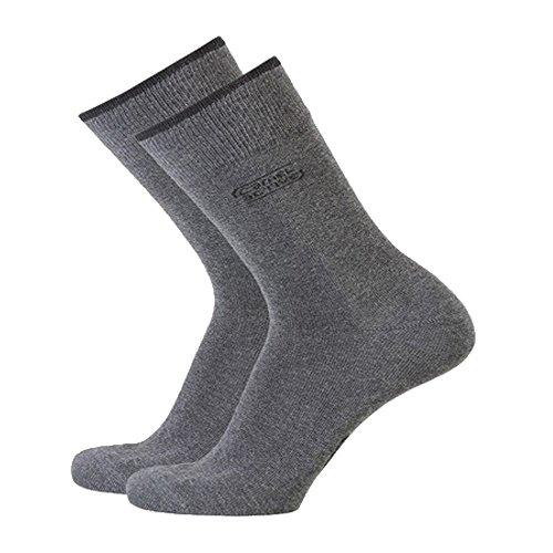 camel active Basic Socks 3er Pack 6593 620 anthracite Strumpf anthrazit grau Socken, Größe:43-46