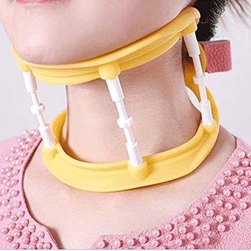 Collarín cervical/Cuello cervical Collar cervical revolucionario que brinda apoyo al ser transpirable, fresco y liviano para aliviar el dolor y la presión en la columna vertebral
