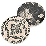 Animal Leopard Print 2.75 x 2.75 Absorbent Ceramic Car Coasters Pack of 2