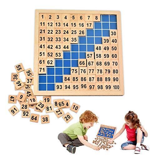 Sunshine smile Mathematik Spielzeug Holz,Mathematik Puzzle Spielzeug,Mathematik Pädagogisches Spielzeug,Zahlen Spielzeug Holz,Montessori Mathematik Spielzeug Kinder