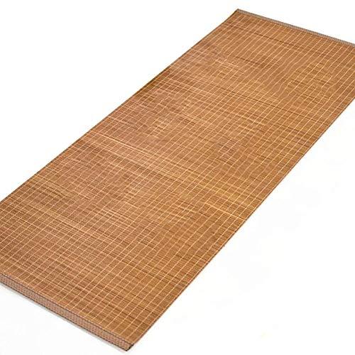 Chemin de table en Bambou de 40cm/60cm/80cm de Large, Facile à Nettoyer Tea House Restaurant Cuisine Dîner Tapis de Bureau, Antidérapant (Size : 40x100cm)