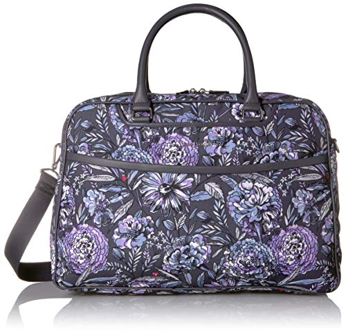 Vera Bradley Women's Lay Flat Weekender Travel Bag, Lavender Bouquet