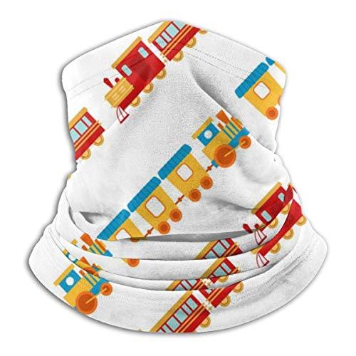 Juego de regalo para niños, calentador de cuello para tren, sombreros, diademas anchas, bufanda, envoltura para la cabeza, diadema con polaina para el cuello, pañuelo para la cara, bufanda deportiva