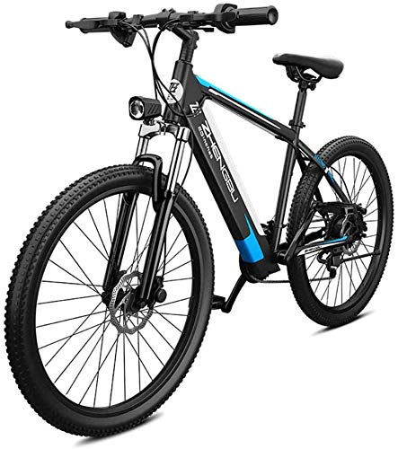 RDJM Ebikes 26'' Electric Mountain Bike 48V 400W Removable Large Capacity Lithium-Ion Battery, Ebikes 27 Speed Gear Three Working Modes