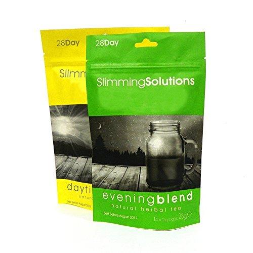 Vetverbrandende thee voor gewichtsverlies door afslankoplossingen, 14 of 28 dagen levering 28 Day Supply