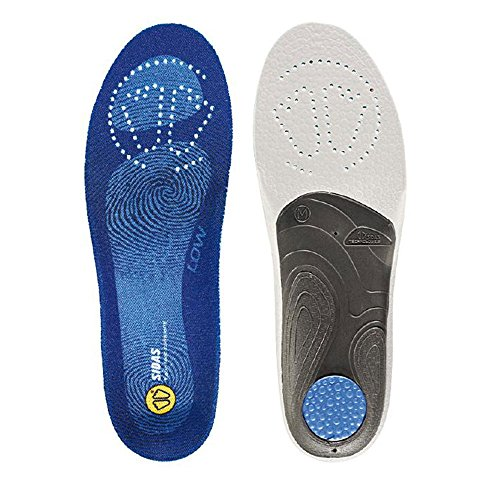 Sidas Flexibility 3D Insoles, Gray, XX-Large (Mens-13 to 14)