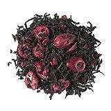Aromas de Té - Té Negro Frutos Rojos - Con Té negro, Frambuesa, Arándano liofilizado y Aromas - Con Propiedades Antioxidantes - Diurético - Sabor Suave y Dulce - 50 gr.