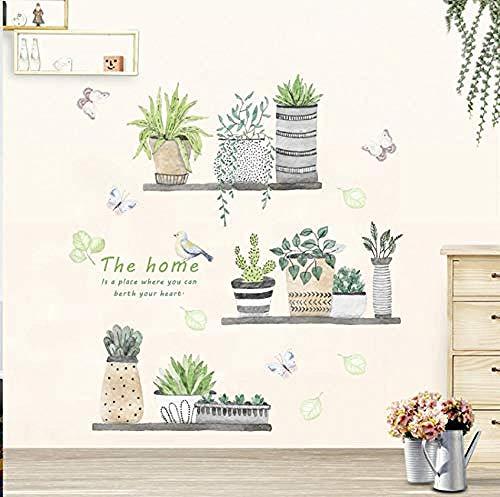 Póster decorativo de pared con diseño de animales en 3D, diseño de mariposa, para salón, dormitorio, ventana, armario, decoración del hogar, 90 x 30 cm