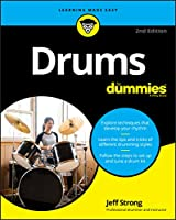 Drums For Dummies, 2nd Edition Front Cover