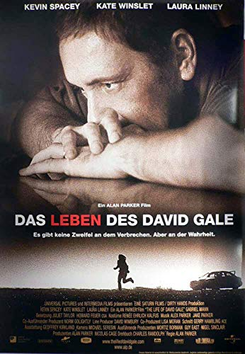 Das Leben des David Gale Filmplakat A1 84x60cm gerollt