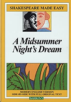 Midsummer Night's Dream (Shakespeare Made Easy) by [William Shakespeare]