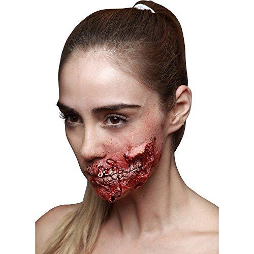 My Other Me Me-204518 Cicatriz látex zombi, Talla única (Viving Costumes 204518)