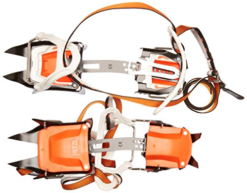PETZL Unisex_Adult IRVIS FLEXLOCK Crampons, Orange, 36-45