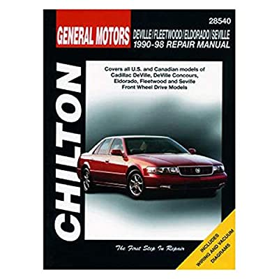 DEVILLE/FLTWOOD/ELDO 90-98 (Chilton Total Car Care Repair Manual)