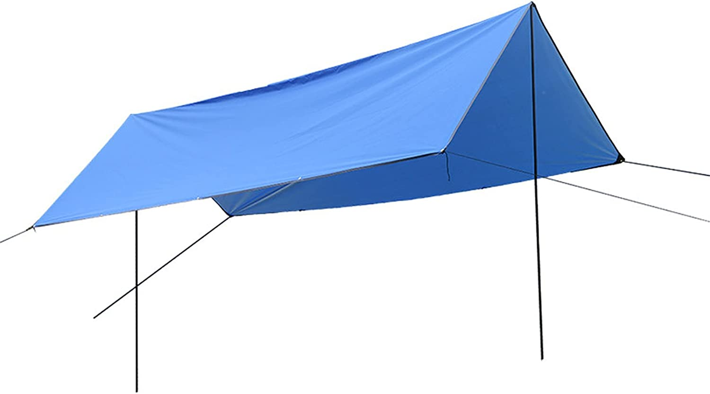 BBGS Camping Tent Tarp San Antonio Mall with Hammock Windproof Waterproof Ra Rod gift