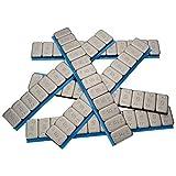X 100 Haskyy Contrapesos 12x5g Pesos Adhesivos 6KG Pesos 60g con Rebordes Galvanizado & Recubierto