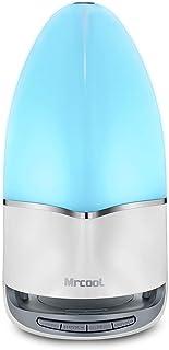 MRCOOL Lámpara de Noche con Altavoz Bluetooth, Lámpara de Tabla LED Luz Nocturna con Cambio de Color, Regalos para Mujeres...