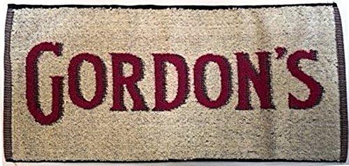 Gordons Gin - Toalla para barra de bar (algodón, 48,26 x 22,86 cm).