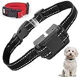 ULPEAK Collar Antiladridos,Collar de Adiestramiento para Perros, Collar Automático de Spray Anti-ladridos, Collar Adiestramiento Perros Recargables y Seguros Sensibilidad y Volumen Ajustables