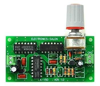 AudioWind ピンクノイズ発生器モジュール組み立て
