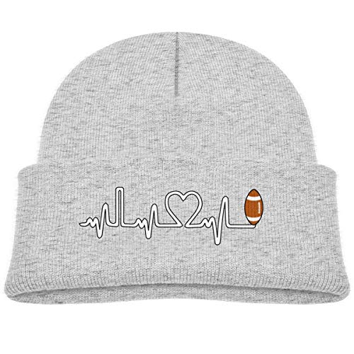 tyutrir Rugby Ball Heartbeat Baby Infant Toddler Winter Warm Beanie Hat Cute Children's Thick Stretchy Cap Perfect 25643