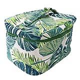 PRETYZOOM Bolsa de artículos de tocador Impresa en Lona Estuche cosmético de Viaje Bolsa de Almacenamiento portátil para Mujeres (Cubo Cuadrado) Home Supplies