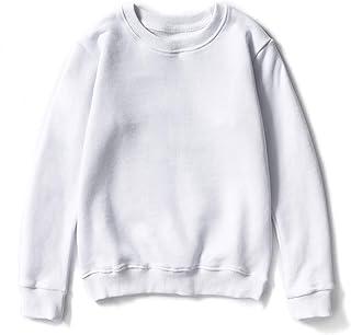 M·Y star of the black Boys Solid Plain Cotton Sweatshirt Basic